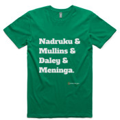 Canberra Raiders - All Time 'Nadruku & Mullins & Daley & Meninga' T-Shirt - AS Colour - Staple Tee